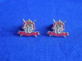 16th / 5th QUEEN'S ROYAL LANCERS CUFF LINKS